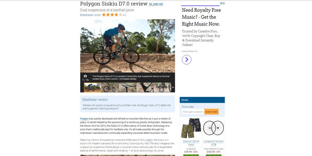 POLYGON SISKIU D7 REVIEW (BIKE RADAR) - Polygon Bikes